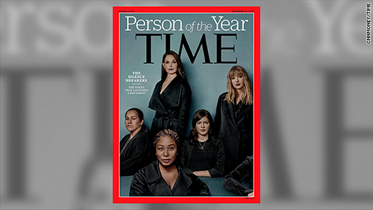 'The Silence Breakers' Named TIME's Person of the Year
