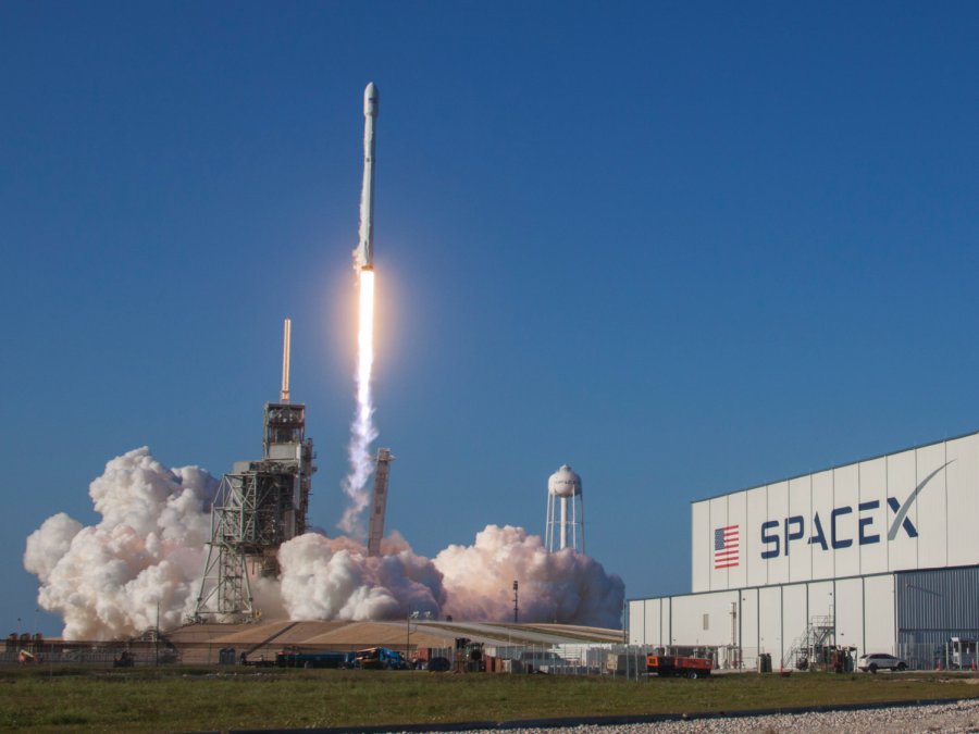 SpaceX Launches Used Rocket