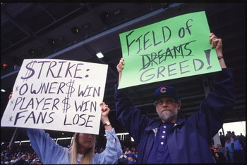 The History of MLB Work Stoppages