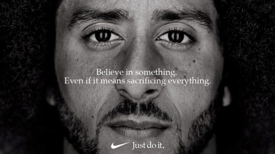 FILE+PHOTO%3A+Former+San+Francisco+quarterback+Colin+Kaepernick+appears+as+a+face+of+Nike+Inc+advertisement+marking+the+30th+anniversary+of+its+%22Just+Do+It%22+slogan+in+this+image+released+by+Nike+in+Beaverton%2C+Oregon%2C+U.S.%2C+September+4%2C+2018.+++Courtesy+Nike%2FHandout+via+REUTERS%2FFile+Photo