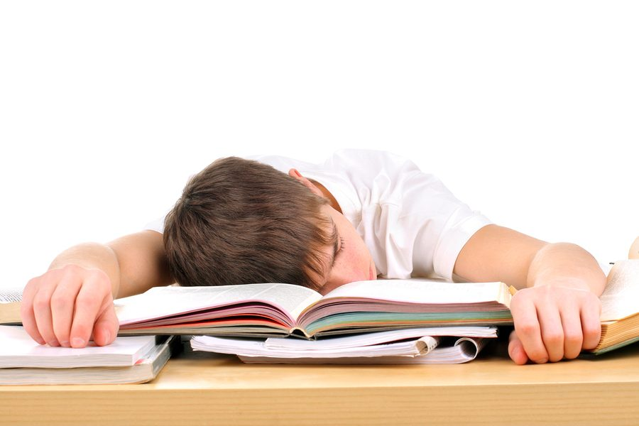 Image result for image of student sleeping