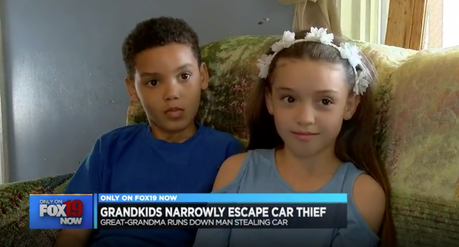 8-Year-Old Heroically Saves Sister From Kidnapper