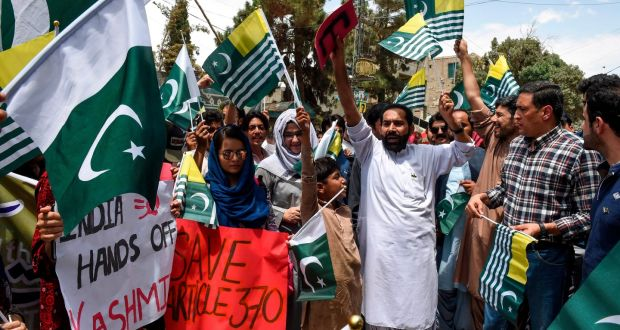India Tightens its Hold on Kashmir