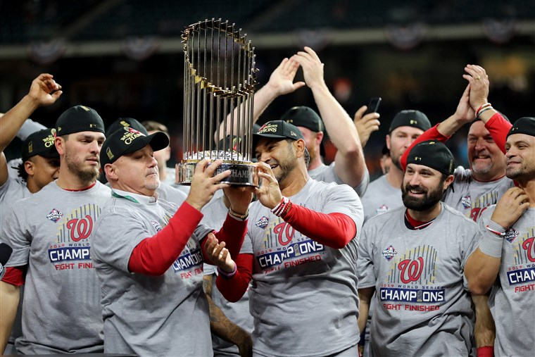 First Ever World Series Title for the Washington Nationals!