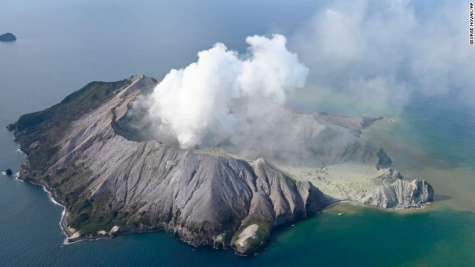 Volcanic Eruption Rocks New Zealand