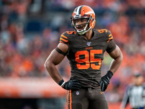 Myles Garrett of the Cleveland Browns Tests Positive for Covid-19